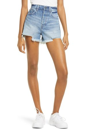 HIDDEN JEANS Women's Classic High Waist Cutoff Denim Shorts