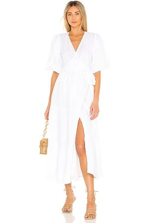 FAITHFULL THE BRAND Edee Wrap Dress in .